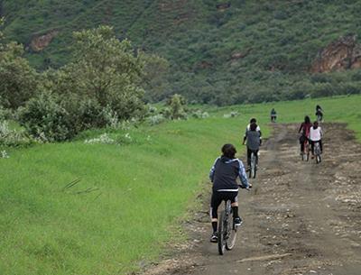 Biking HellsGate