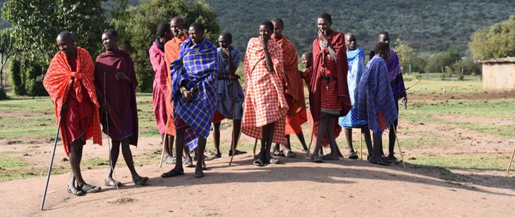 Masai People - Amboseli