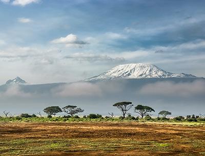 Mt. Kilimanjaro from Amboseli National Park