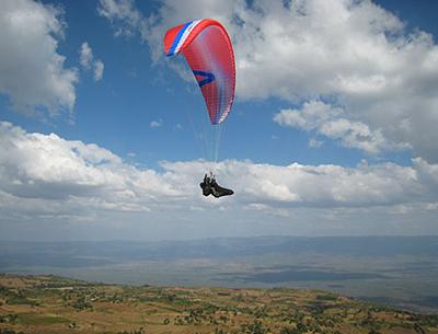 paragliding kenya