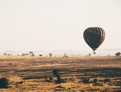 Ballooning Serengeti