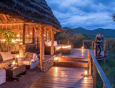 Balcony at Campi ya Kanzi