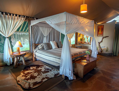 Double room Kibo Safari Camp