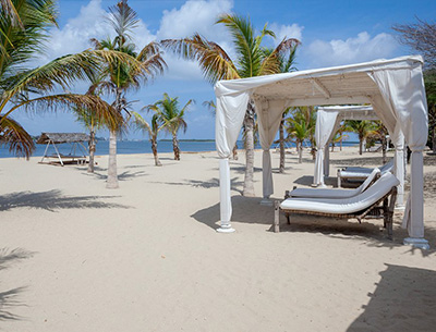 Beach Area Majlis Resort
