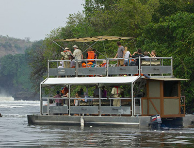 boatride at Murchison Falls